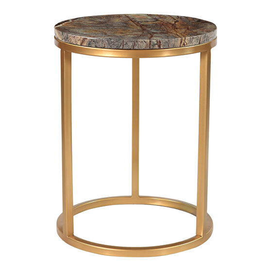 Contemporary accent table coffee