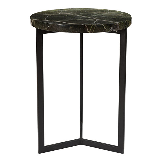Contemporary accent table forest