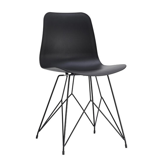 Contemporary outdoor chair black-m2