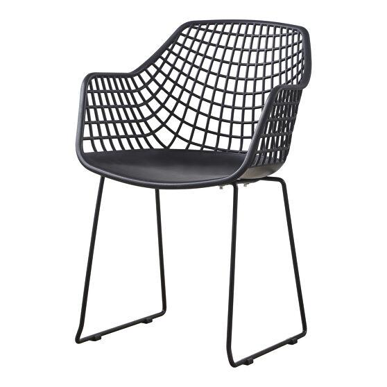 Contemporary chair black-m2