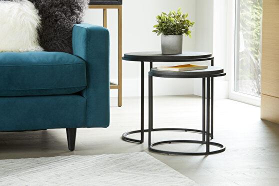 Contemporary nesting tables set of 2