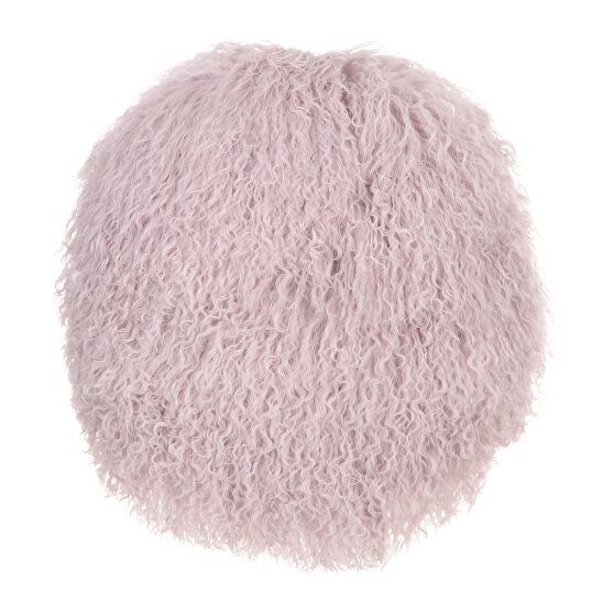 Contemporary pillow taro purple