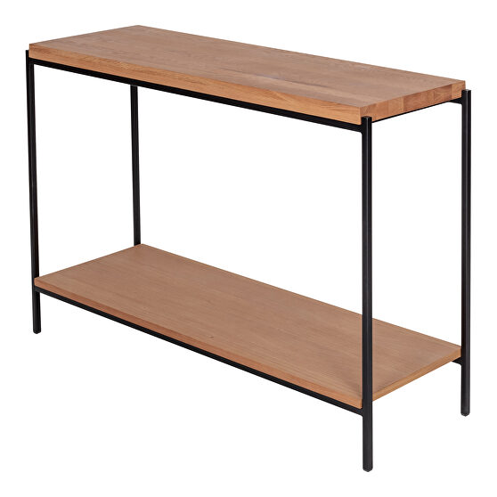 Scandinavian console table