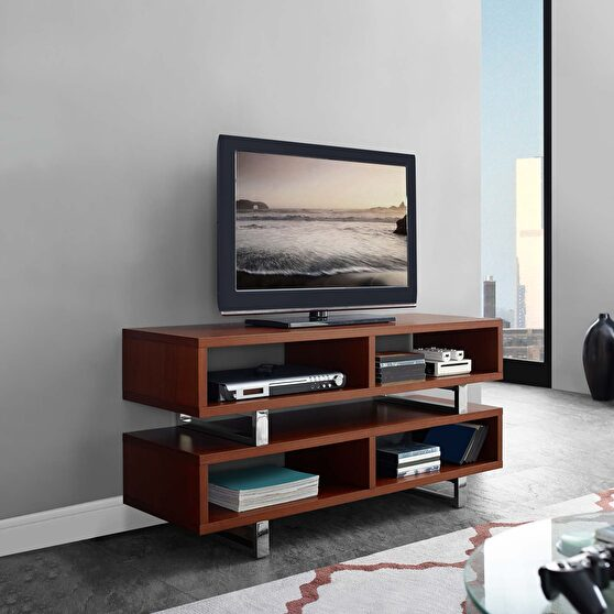 Tv stand in walnut