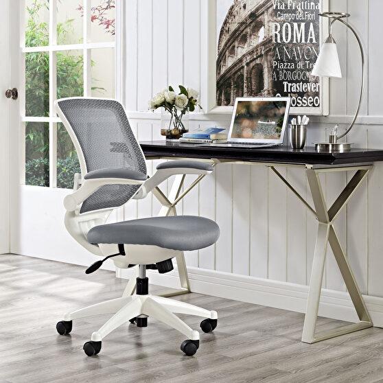 White base / mesh quality computer chair