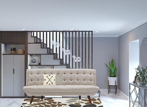 Contemporary stylish sofa bed