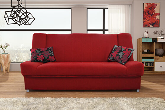 Chenille fabric affordable sofa bed