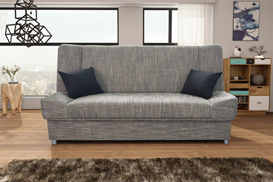 Tweed fabric affordable sofa bed