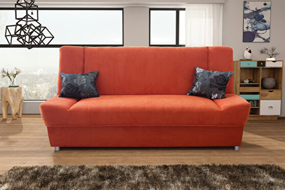 Microfiber fabric affordable sofa bed