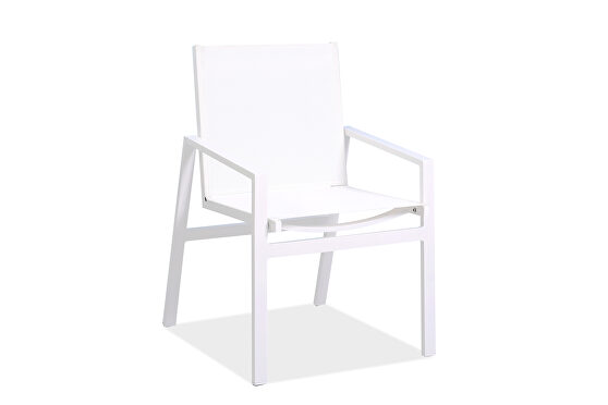Rio outdoor dining armchair set of 2