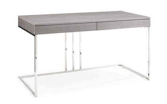Sabine desk in gray oak veneer
