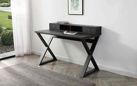 Michael desk, dark wengee