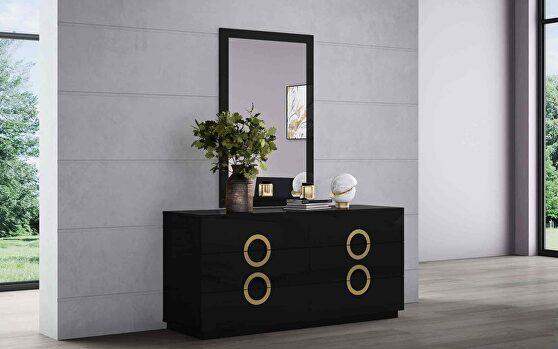 Eddy dresser double high gloss black