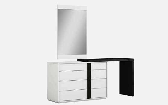 Kimberly single and double dresser extension black