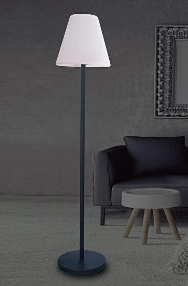 Solar led floor lamp speaker uv resistant