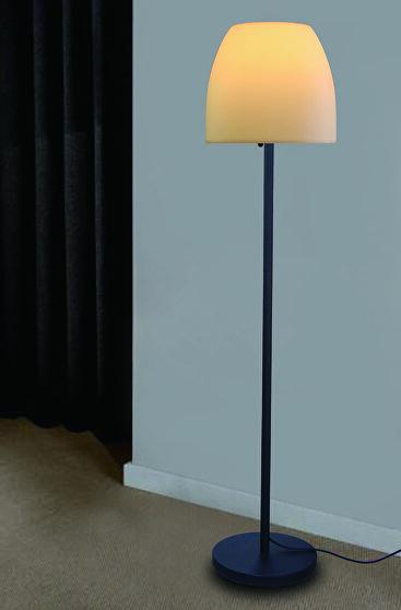 Pe metal floor lamp round shape