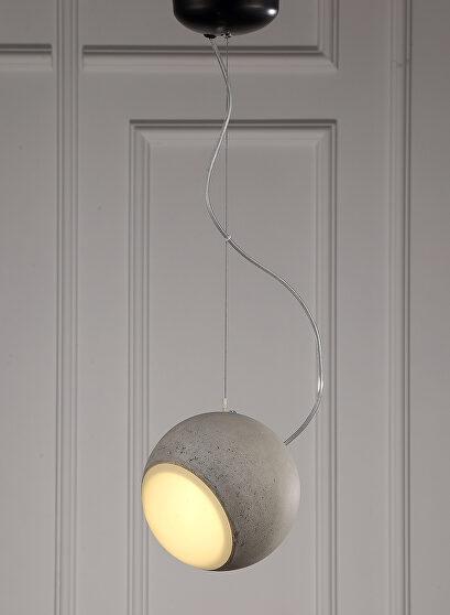 Pendant lamp gray