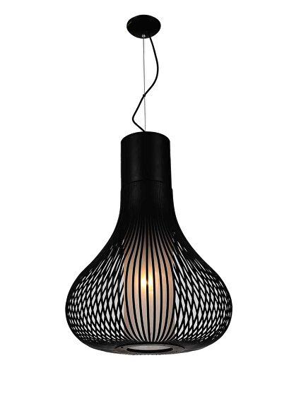 Pendant lamp carbon steel black