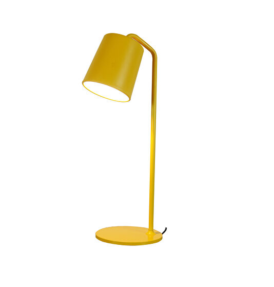 Table lamp yellow carbon steel