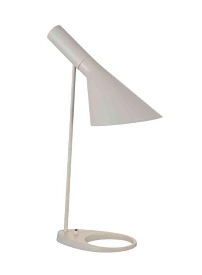 Table lamp white metal
