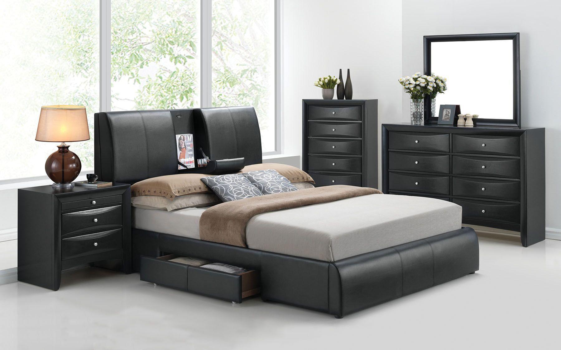 Kofi Queen Size Bed