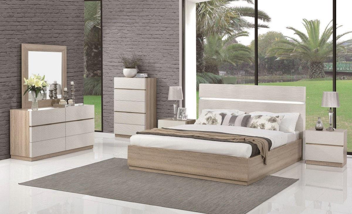 Loft Led Queen Size Bed Loft Led Beverly Hills Furniture Modern Beds Comfyco Furniture