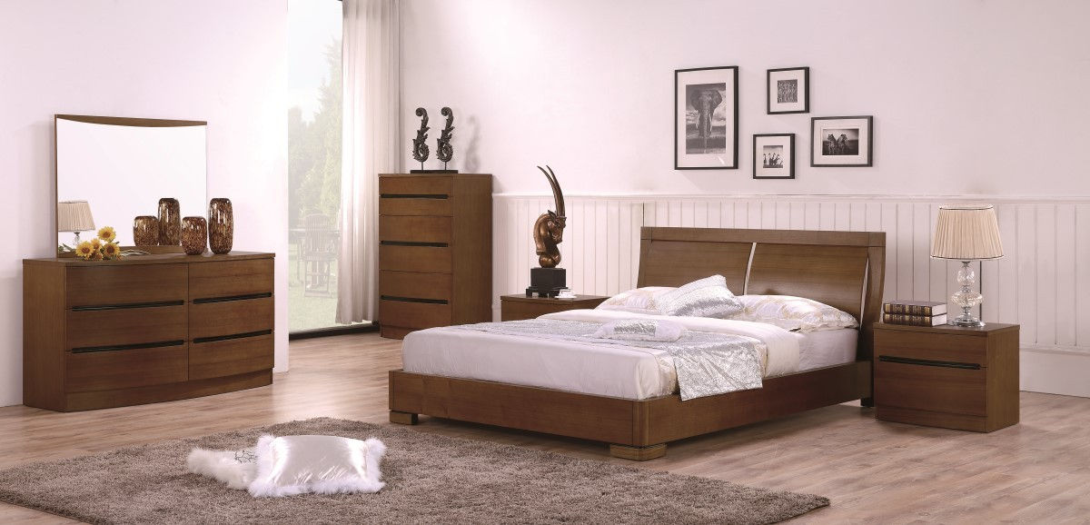 Maya Teak Queen Set Size B 2ns Dr, Teak Queen Bedroom Set