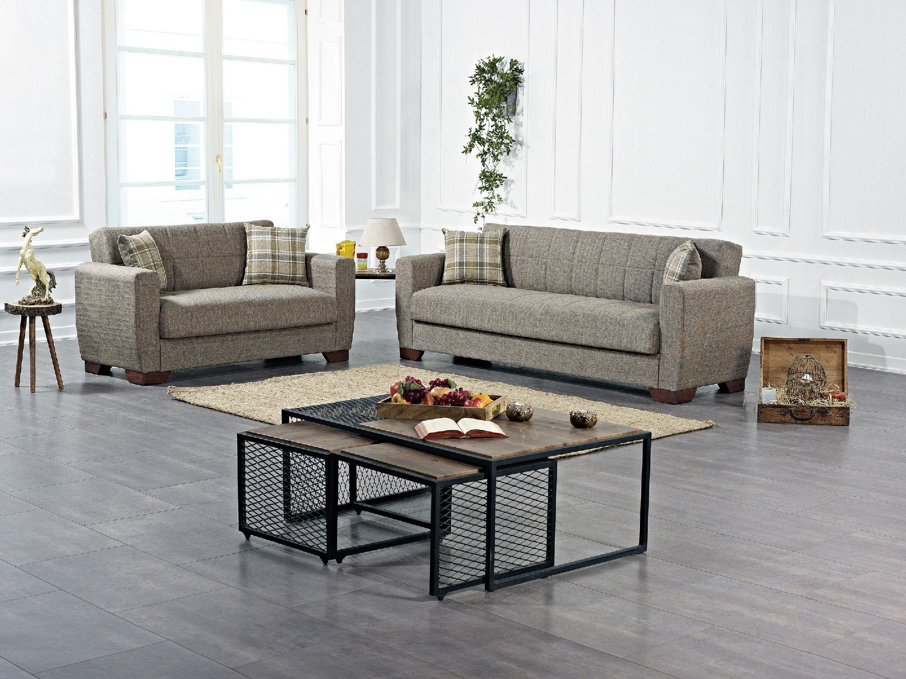 Barato Brown Sofa