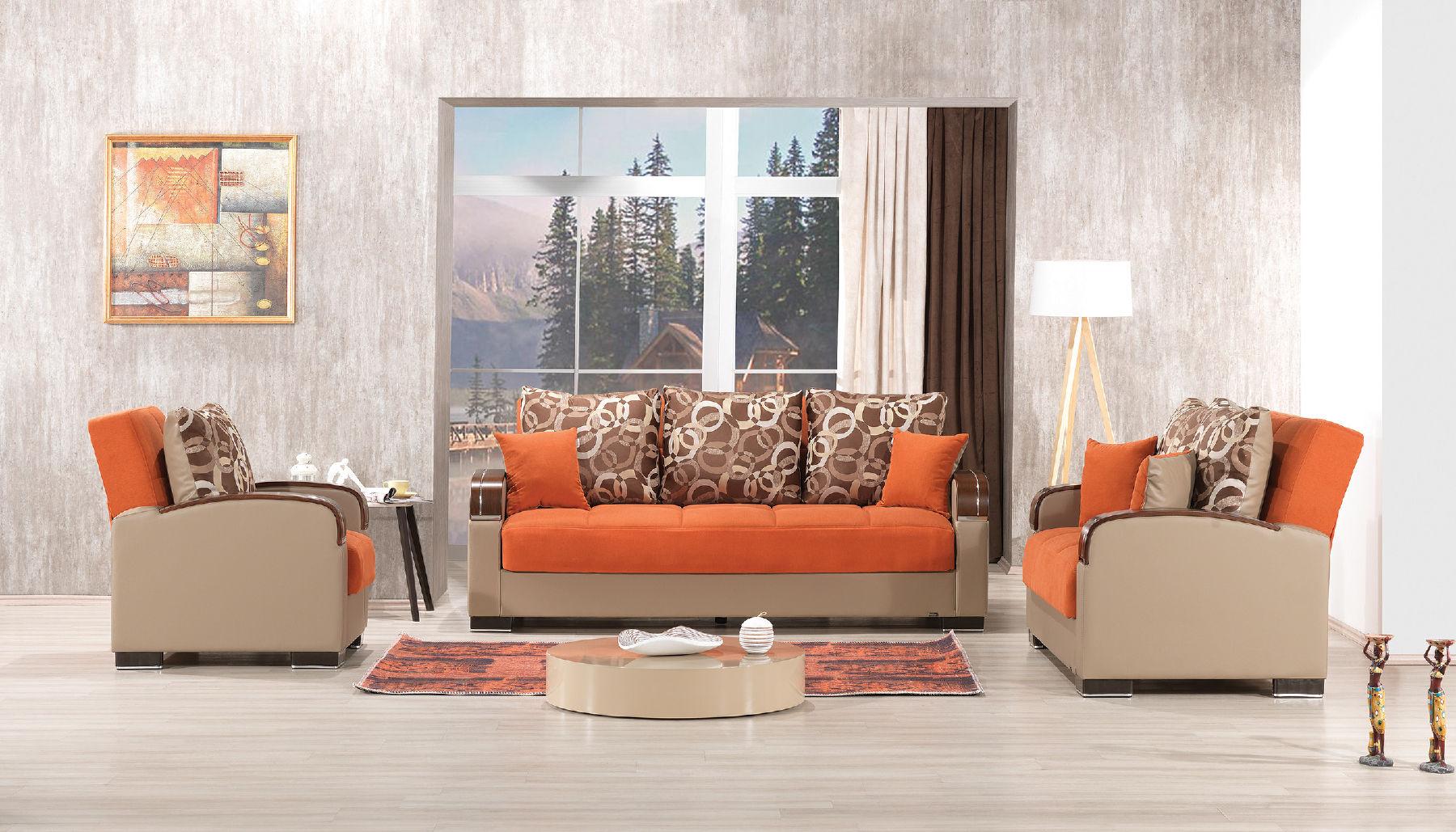 Mobimax Orange Sofa
