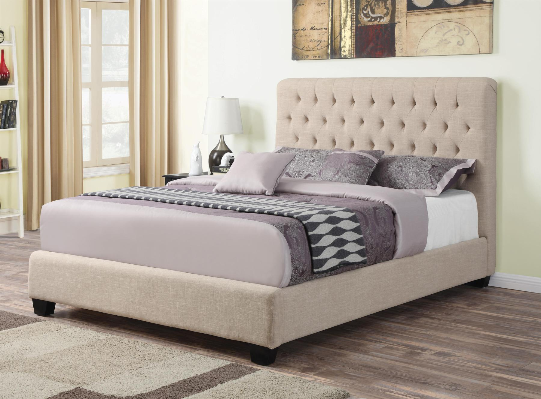 Picture of: Chloe Queen Size Bed 300007q Coaster Furniture Modern Beds Comfyco Furniture