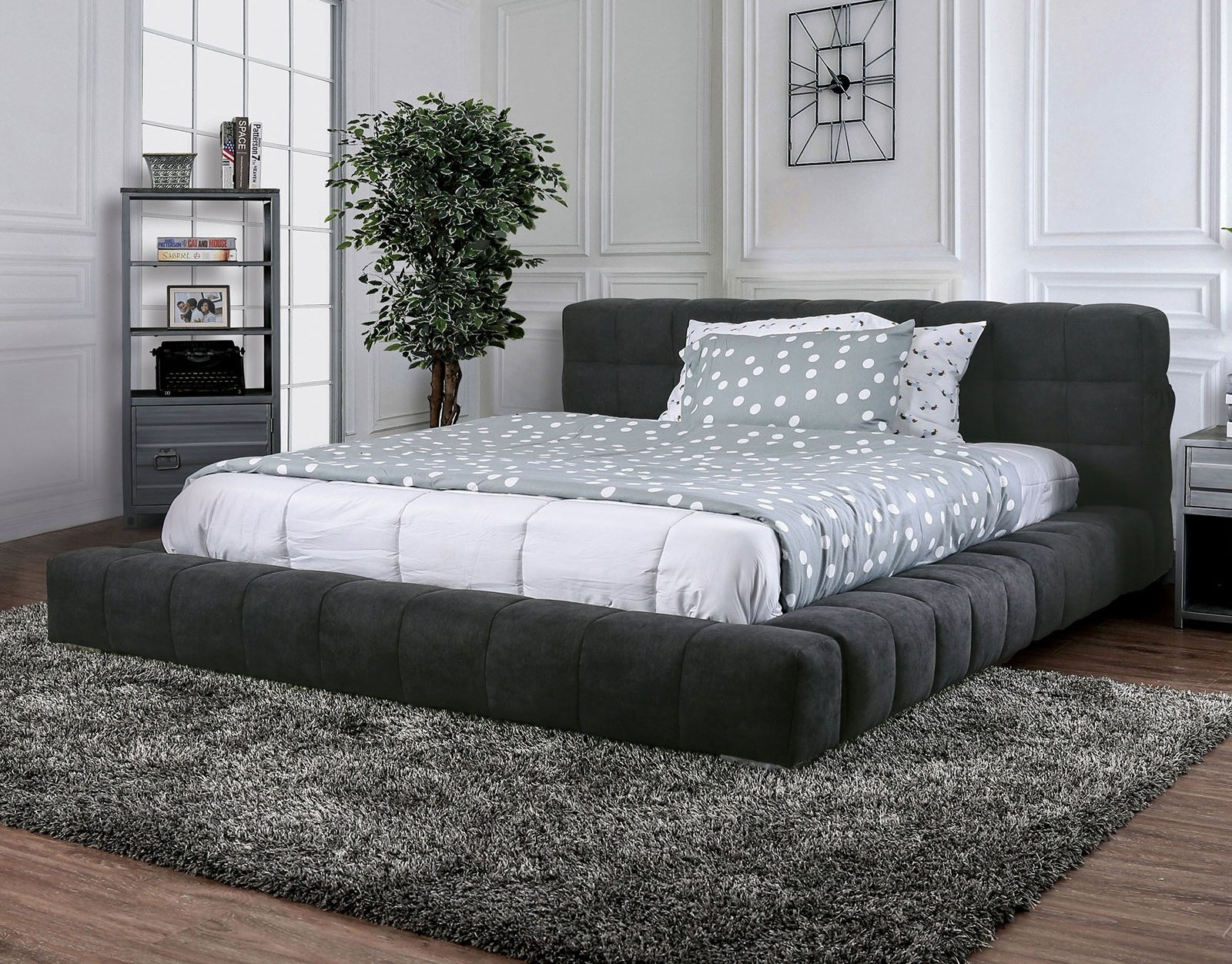 Picture of: Wolsey Queen Size Bed Cm7545q Furniture Of America Modern Beds Comfyco Furniture