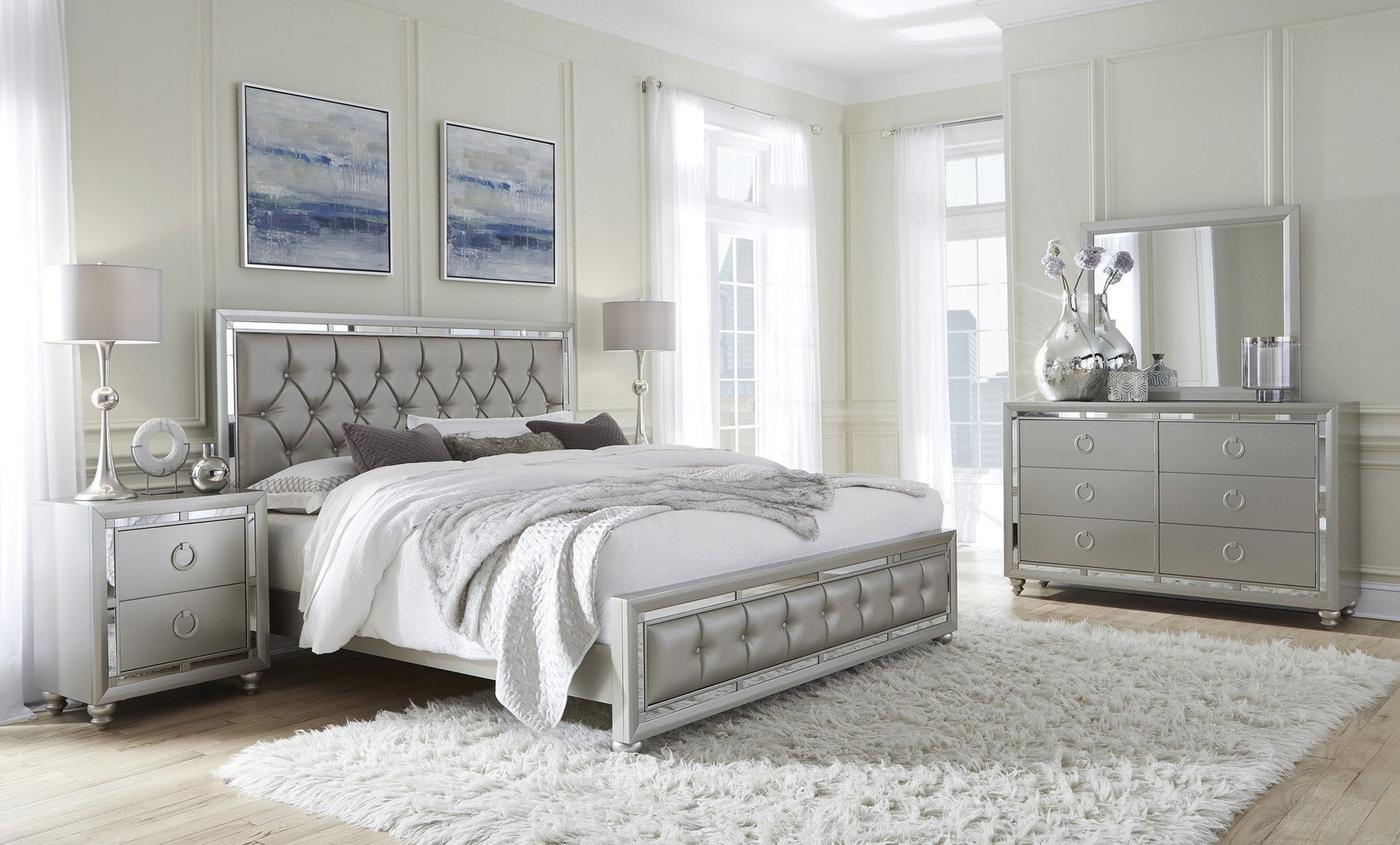 Riley Queen Size Bed
