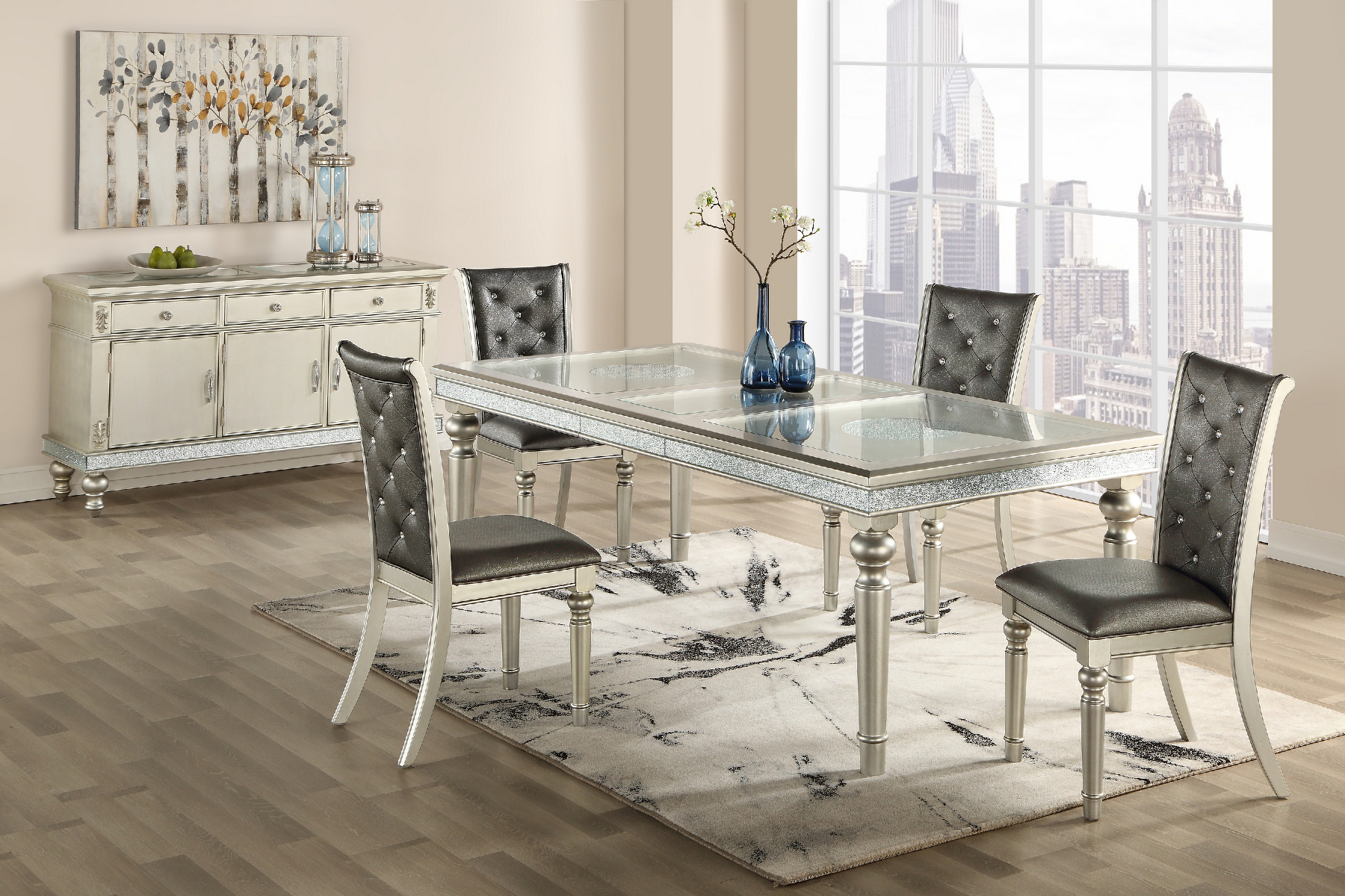G3355 Table D3355dt Global Furniture Usa Dining Room Sets Comfyco Furniture