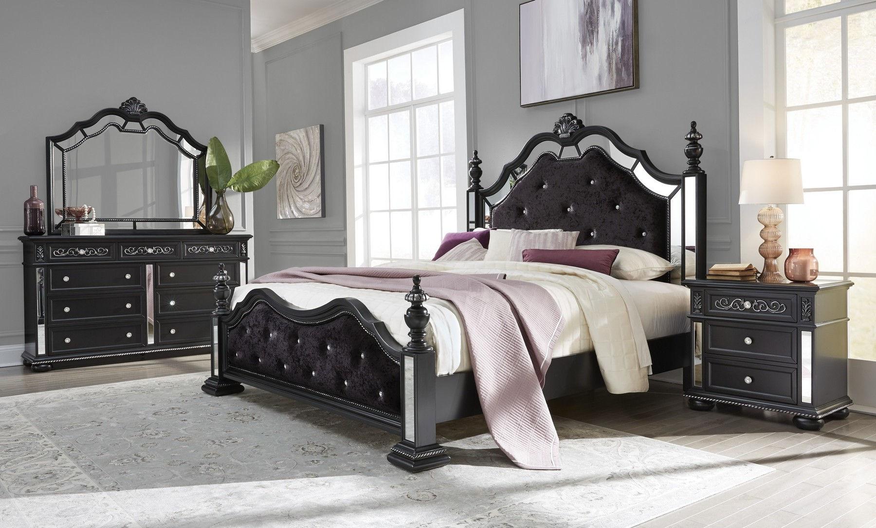 Diana Black King Size Bed Diana Global Furniture Usa King Size Beds Comfyco Furniture