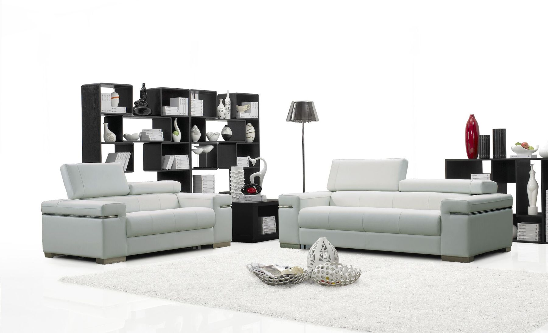 Soho White Sofa