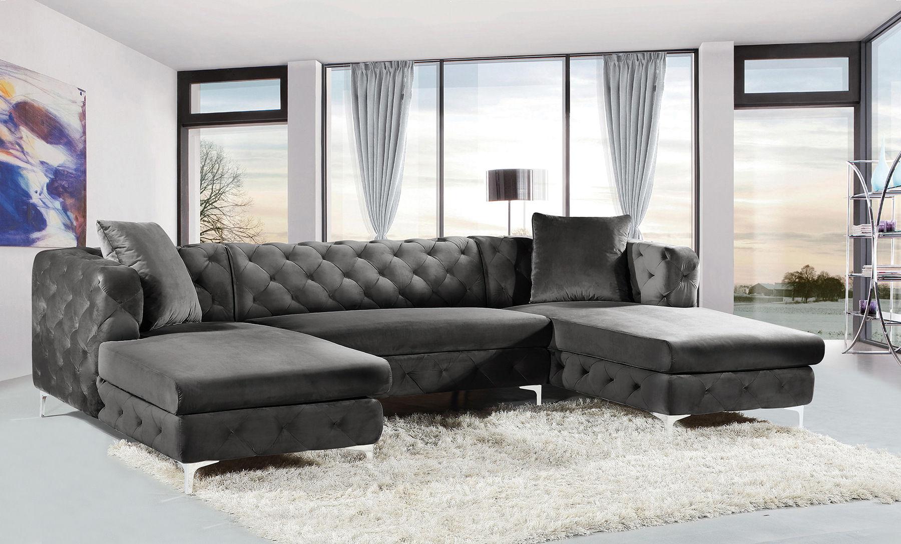 Gail Gray Sectional Sofa