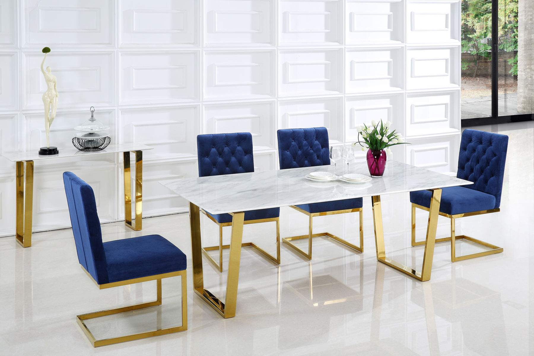 Magnificent Cameron Blue Table Alphanode Cool Chair Designs And Ideas Alphanodeonline