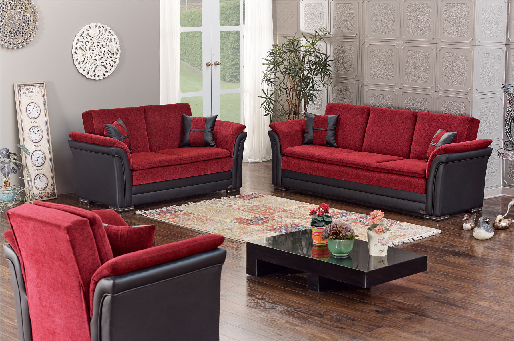 Meyan Furniture Fabric Sofas