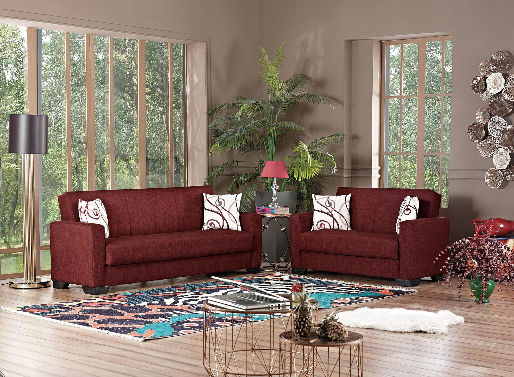 Vermont Burgundy Sofa Bed Vermont Br Sf Meyan Furniture Sleeper