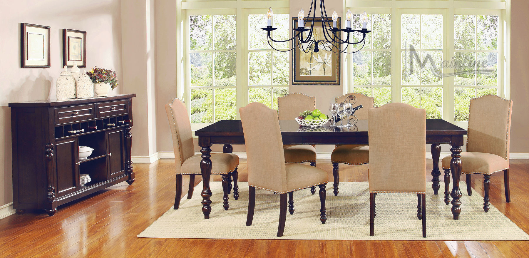 Epoque Table 24300 Mainline Inc Dining Table Sets