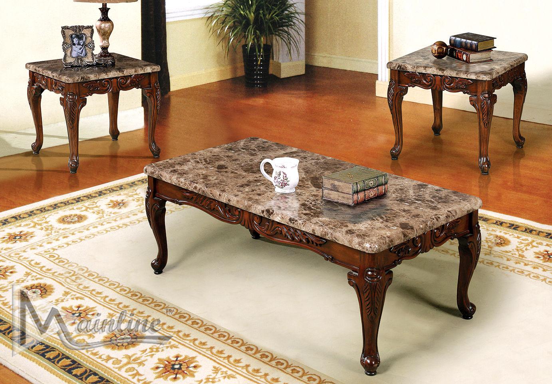 Cordova Coffee Table 2 End Tables 60050 Mainline Inc Coffee