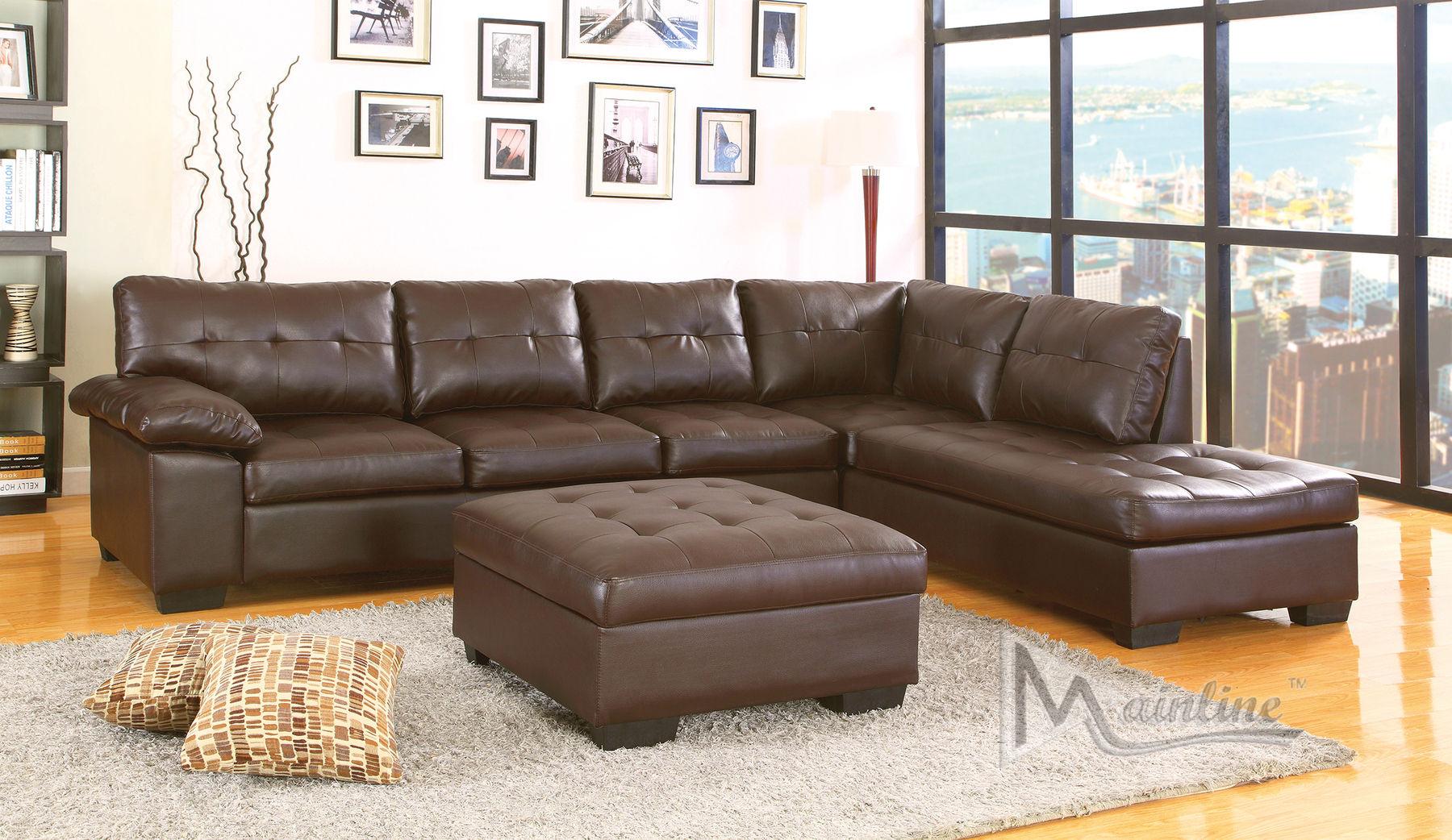 Contemporary White Bonded Leather Corner Sectional Sofa Right Soflex Dallas    eBay