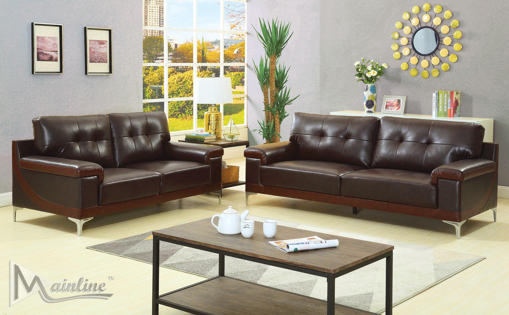 Fedora Espresso Sofa