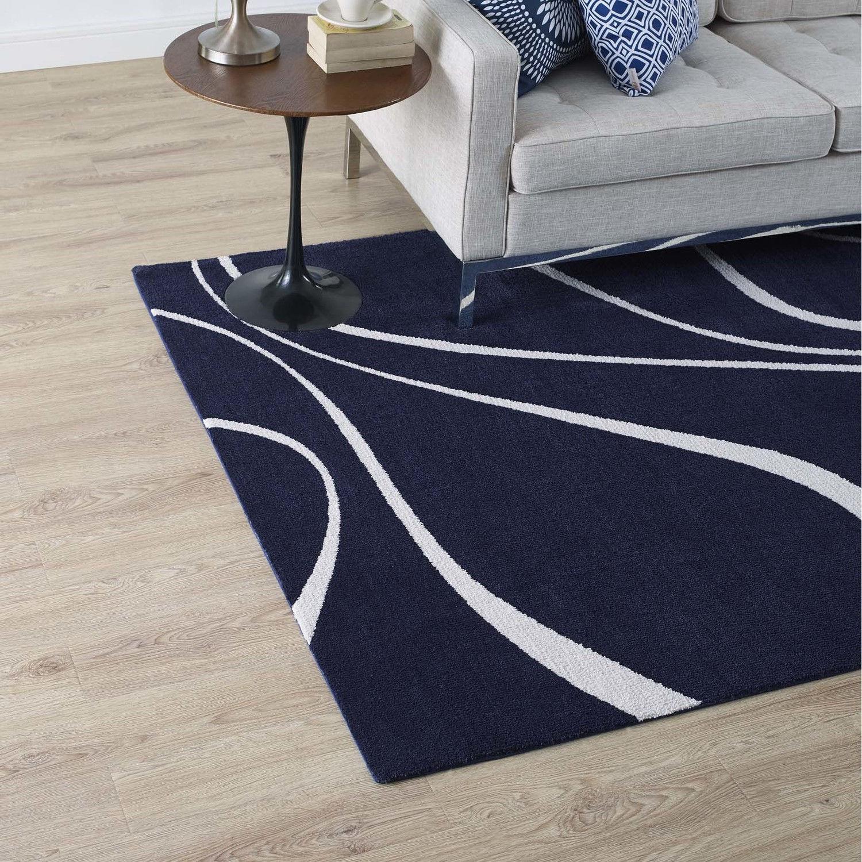 Miraculous Therese Navy Ivory 8X10 Area Rug Creativecarmelina Interior Chair Design Creativecarmelinacom