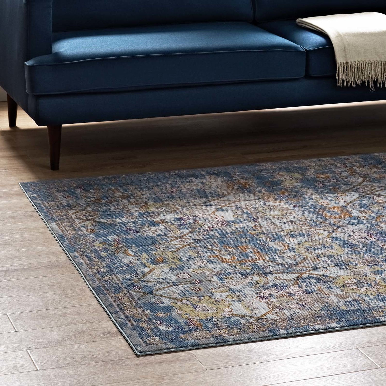 Picture of: Minu Blue Gray Yellow Orange 8×10 Area Rug R 1091c 810 Modway Furniture Area Rugs Comfyco Furniture
