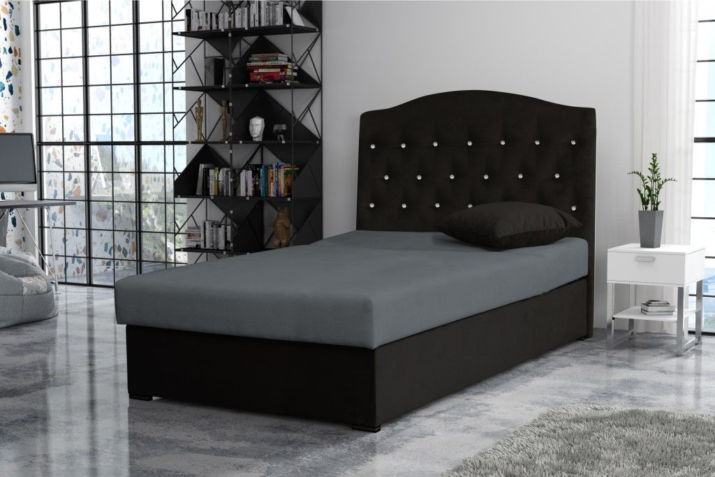Julia Full Black Full Size Bed Julia Skyler Design Kids Bedroom Furniture Comfyco Furniture