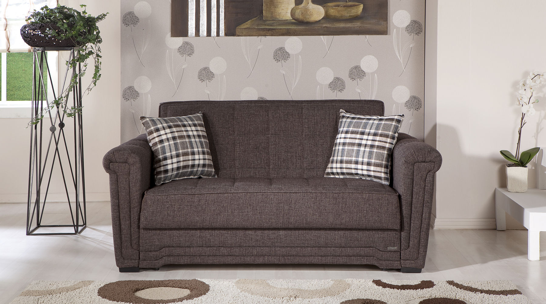 Fabulous Victoria Brown Sofa Bed Andrewgaddart Wooden Chair Designs For Living Room Andrewgaddartcom